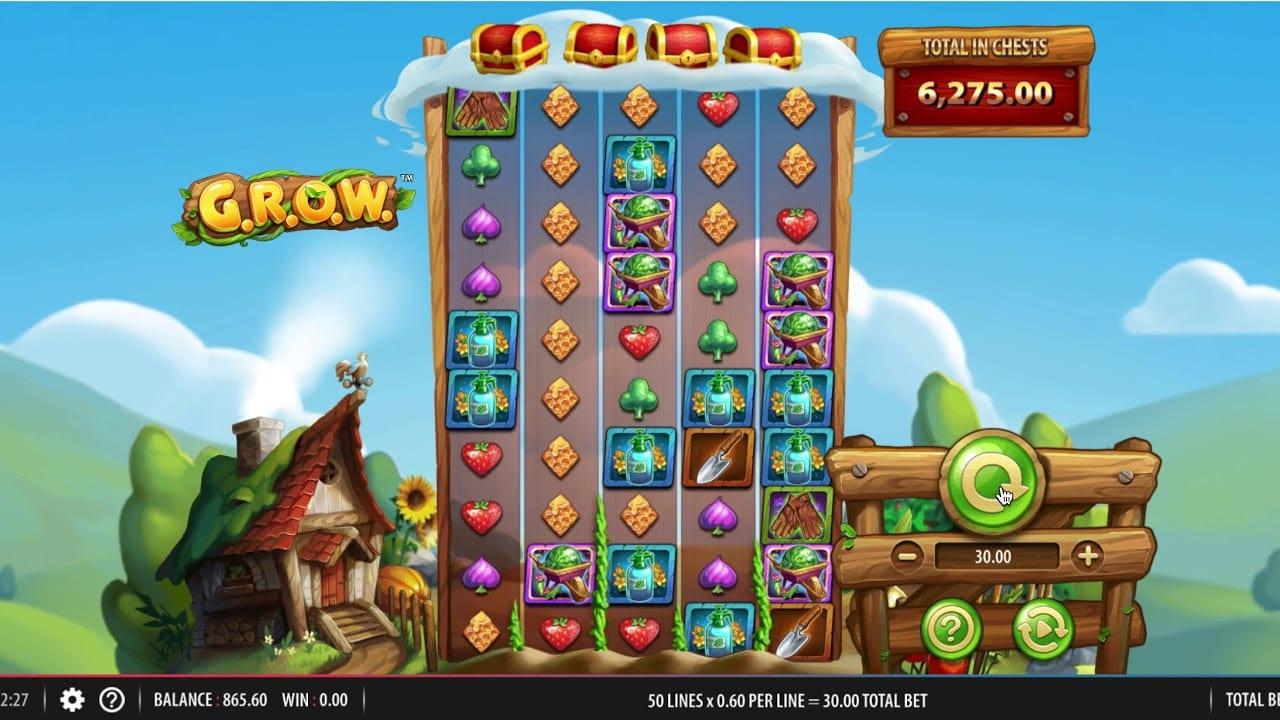 G.R.O.W Slot Game