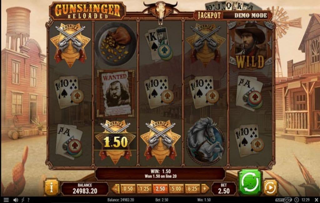 Gunslinger Slot Reels