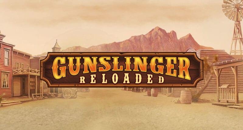 Gunslinger Slots Logo Wizard Slots