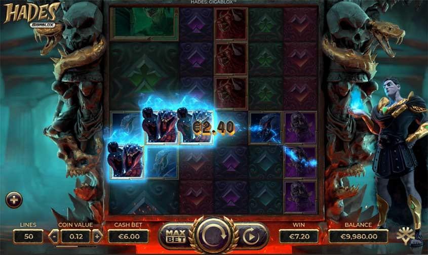 Hades Gigablox Slot Win