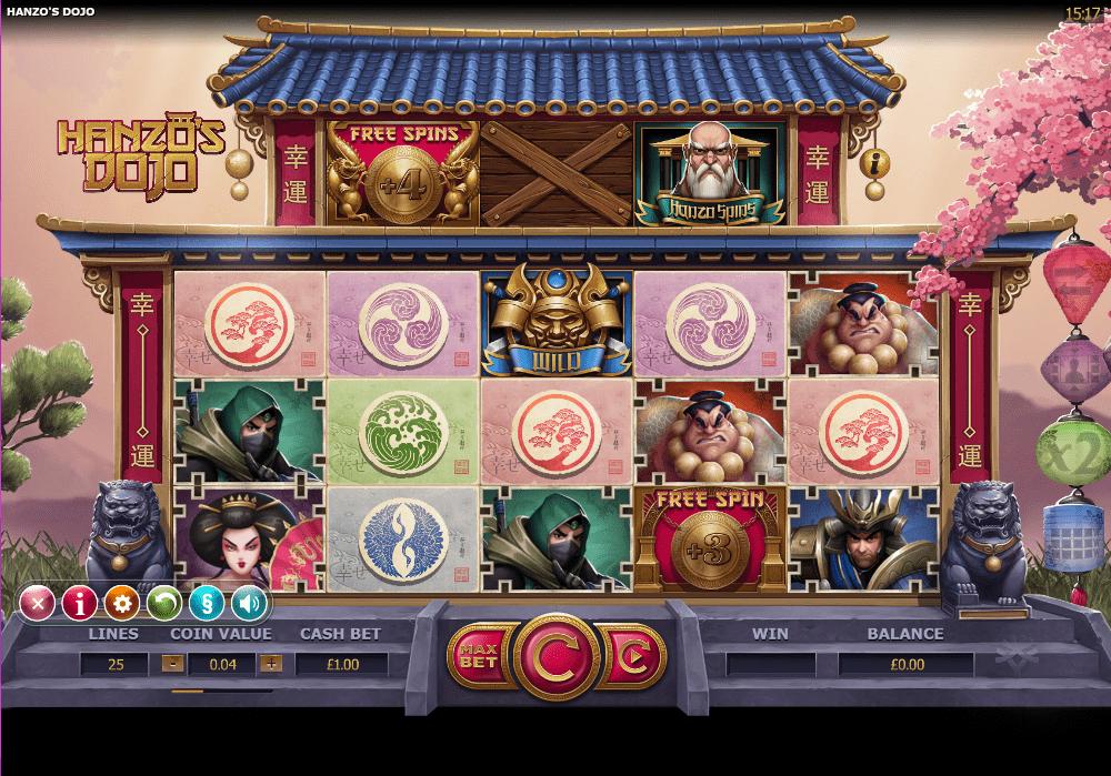 Hanzo's Dojo Gameplay