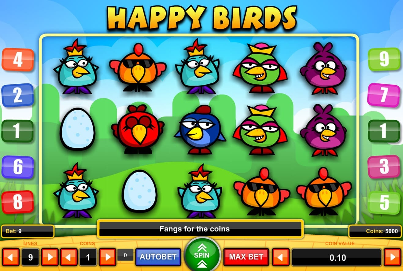 Happy Birds Slots Gameplay