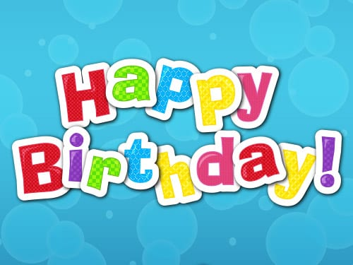 Happy Birthday Jackpot Slots game logo