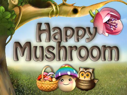 Happy Mushroom online slot game logo