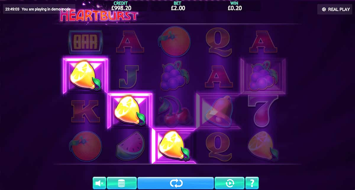 heartburst slot game