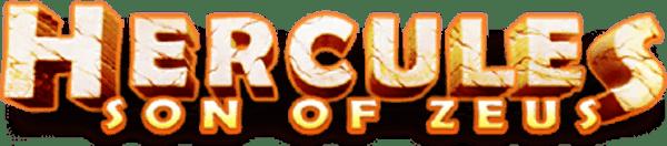 Hercules Son Of Zeus Slot Logo Wizard Slots