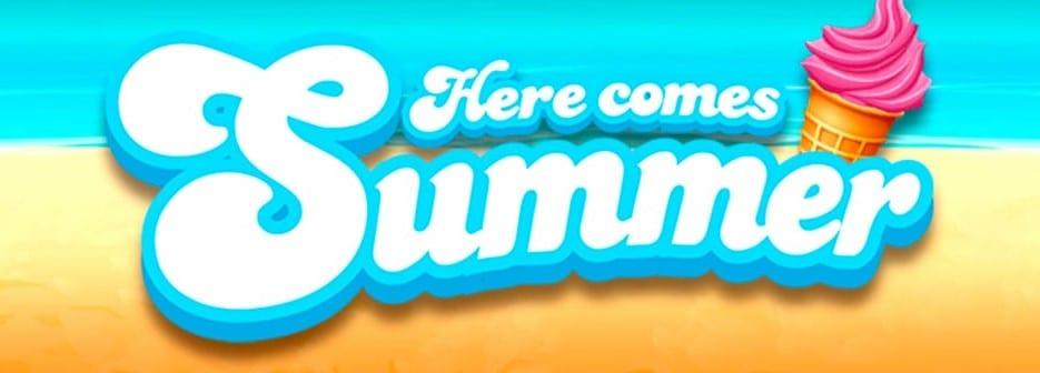 Here Comes Summer Slots Logo Wizard Slots