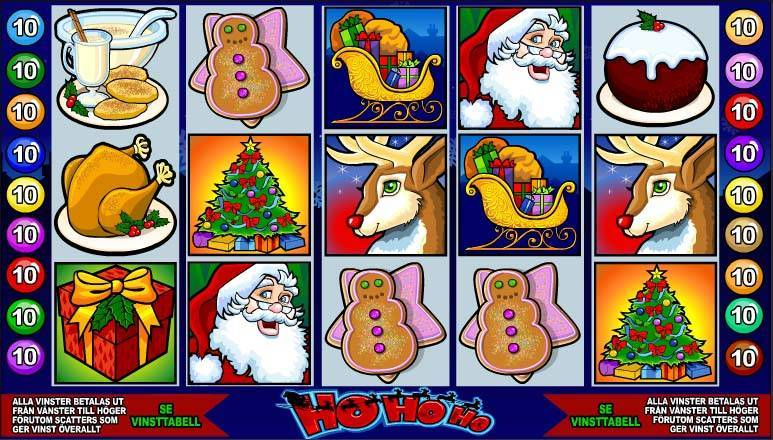Ho Ho Ho Slots Machine
