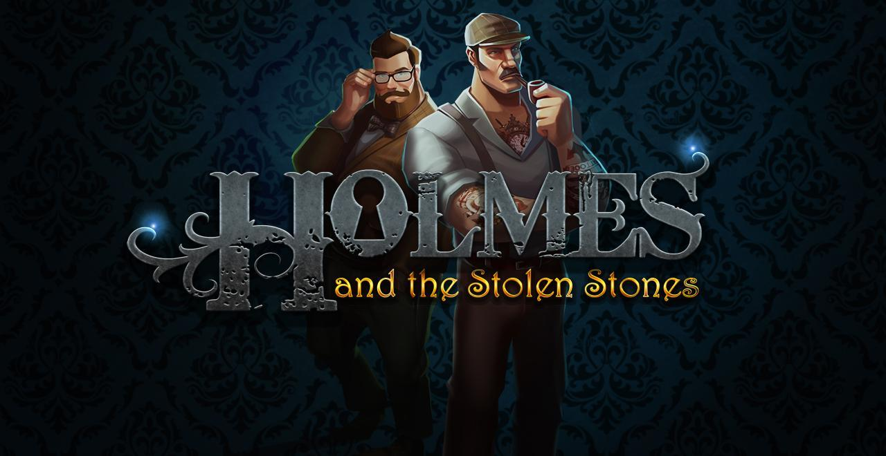 Homes and the Stolen Stones online slots game logo