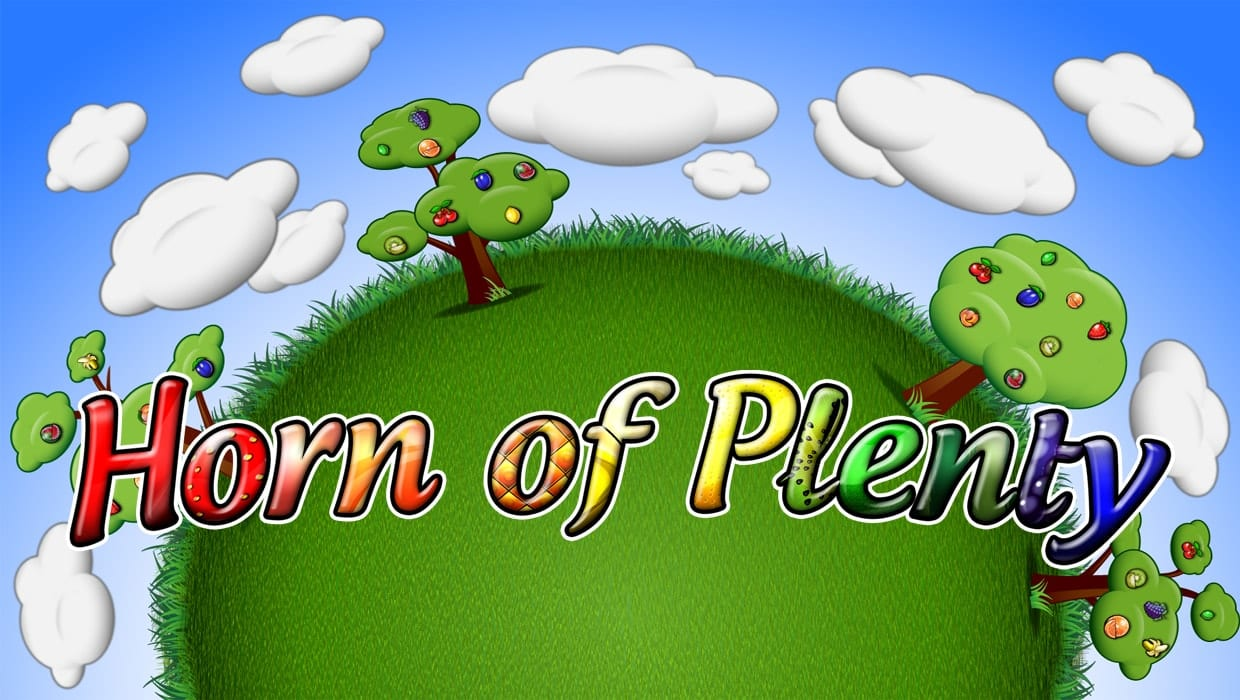 horn of plenty spin 16 slots game logo