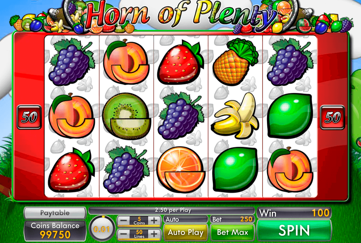 horn of plenty Slots Game