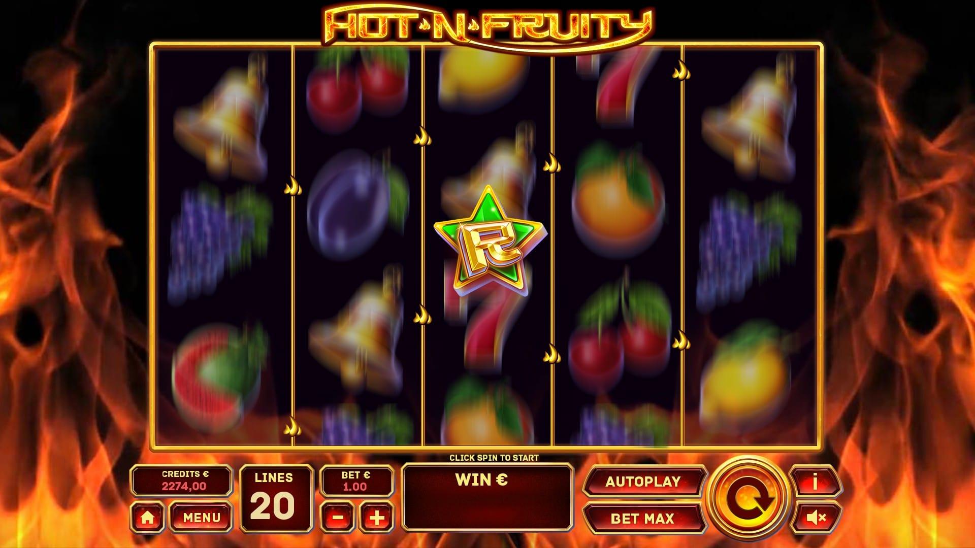 Hot N' Fruity Slot Wizard Slot