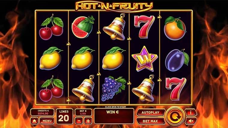 hot n fruity gameplay