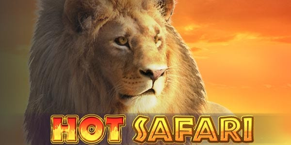 hot safari slots game logo