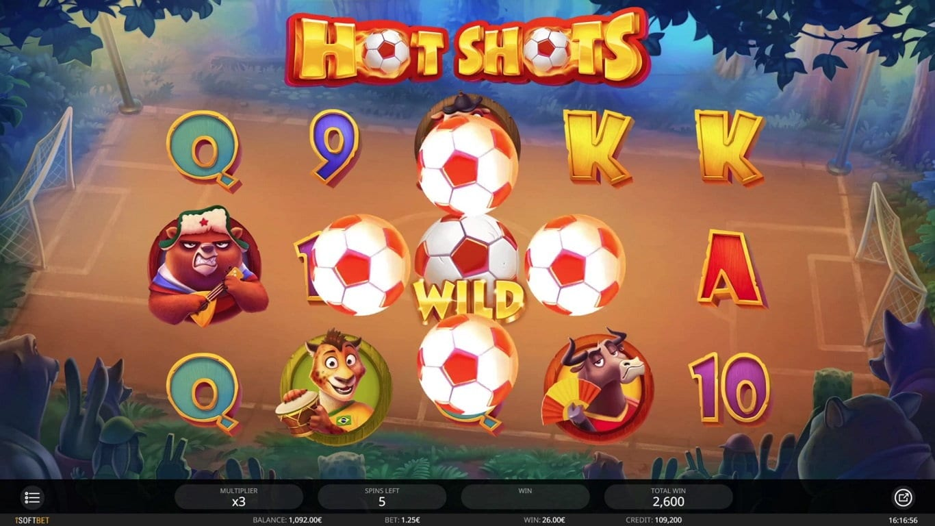 hot shots gameplay
