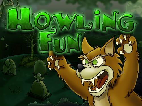 Howling Fun online slots game logo