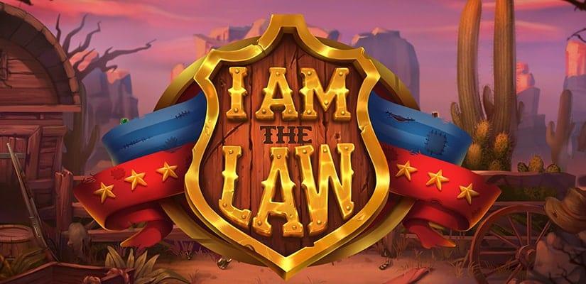 I Am The Law Slot Logo Wizard Slots