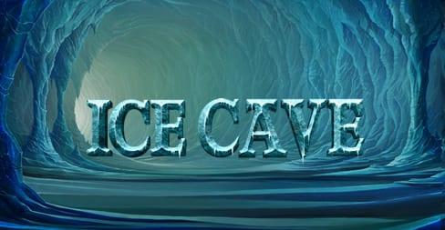 Ice Cave Slot Logo Wizard Slots