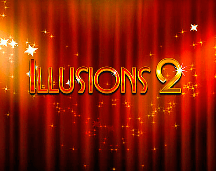 Illusions 2 online slots game logo
