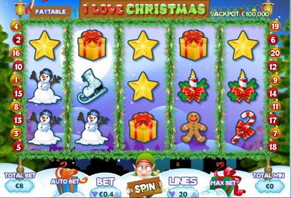 I Love Christmas front screen