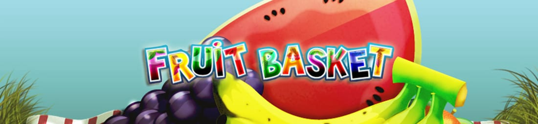 Fruit Basket online slots game logo
