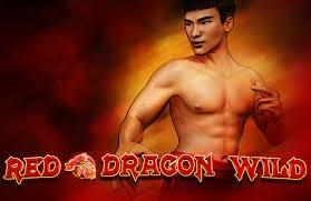 Red Dragon Wild online slots game logo