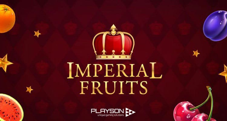 Imperial Fruits 100 Lines Slot Logo Wizard Slots