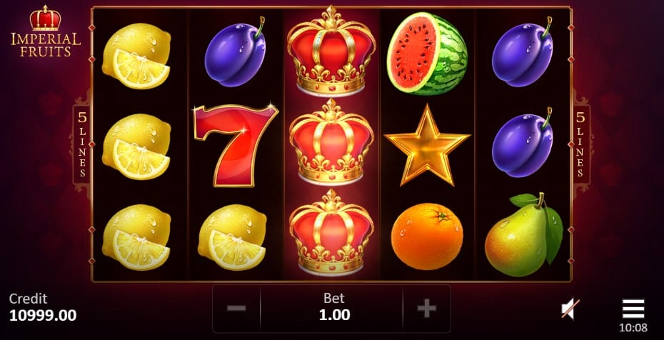 Imperial Fruits: 5 Lines slots