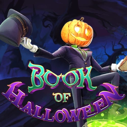 Book of Halloween Casino slot logo