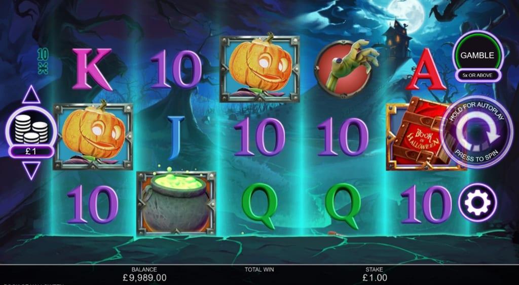 Book of Halloween Slot gameplay