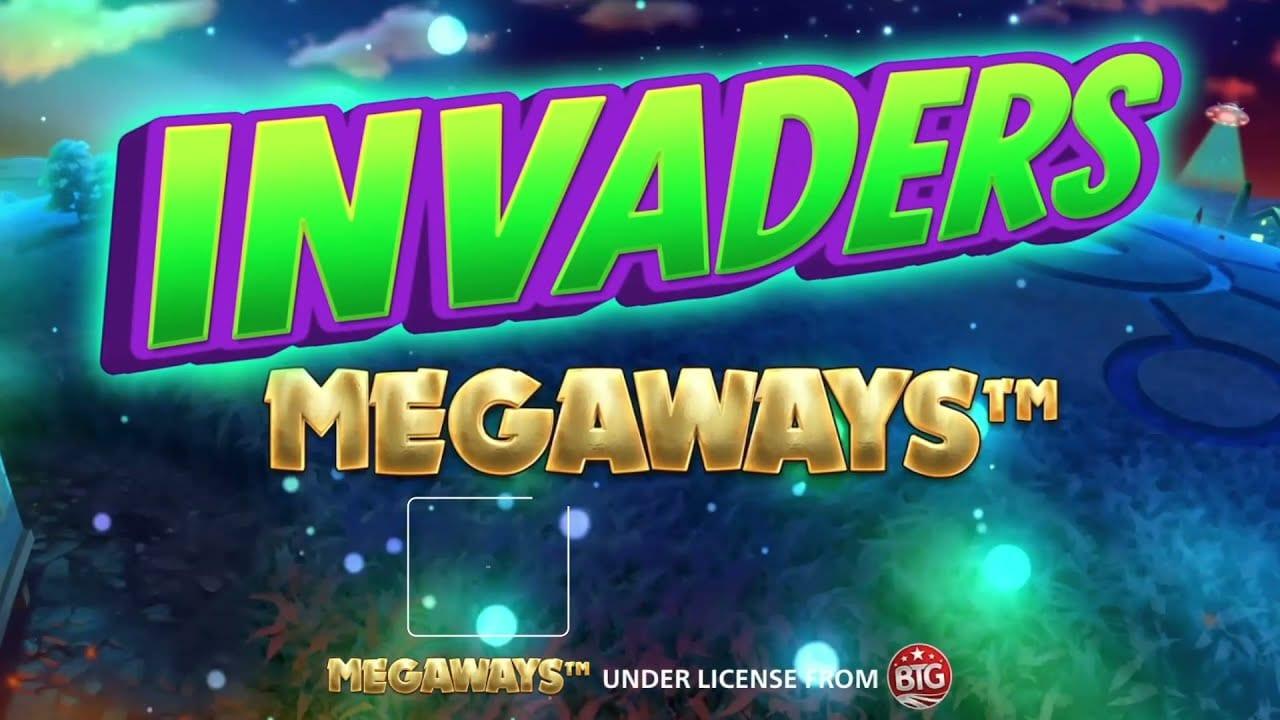 Invaders Megaways Slot Logo Wizard Slots