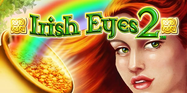 Irish Eyes 2 online slots game logo