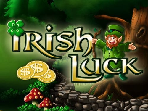 Irish Luck online slots game logo