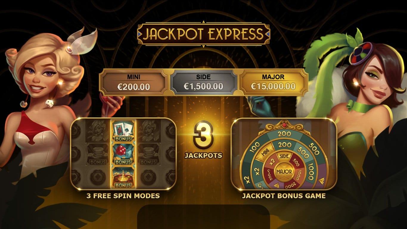 Jackpot Express Free Spins Slot
