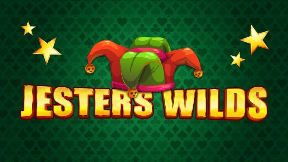 Jesters Wilds Slot Logo Wizard Slots