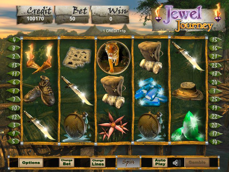 Jewel Journey home screen