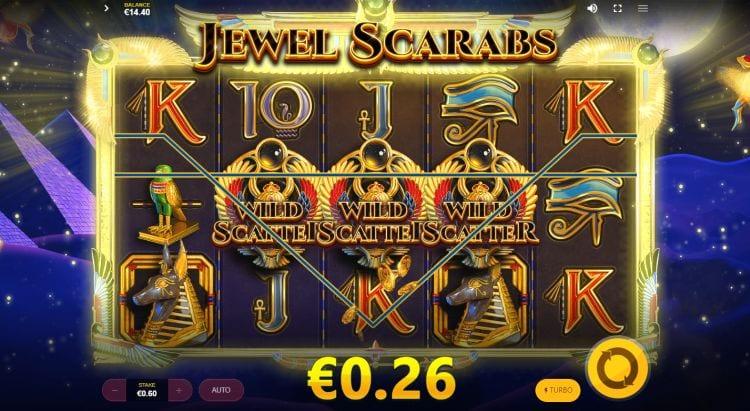 Jewel Scarabs Free Slots