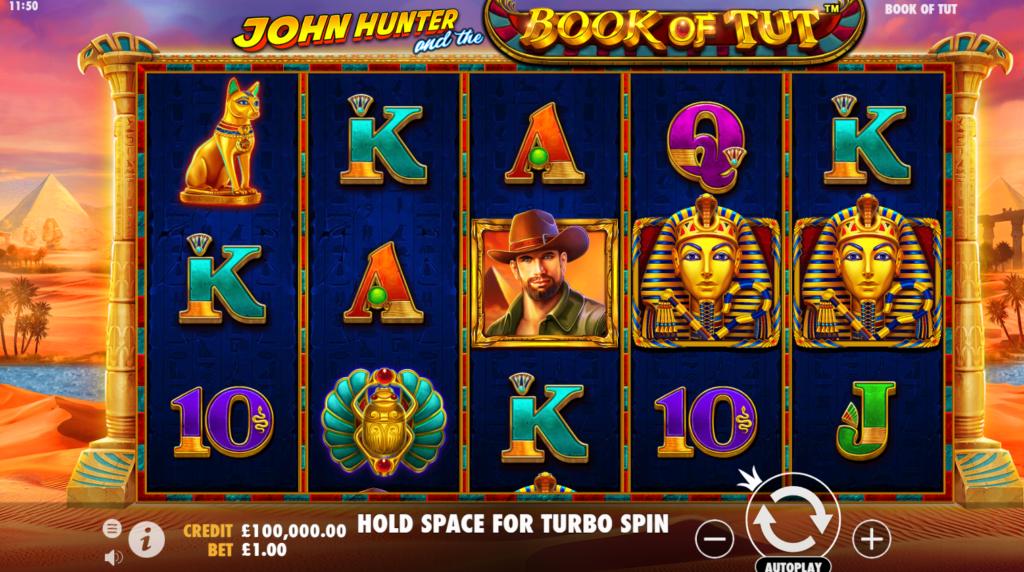 Book of Tut Slot Game