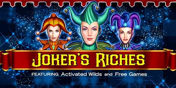 Joker's Riches Slot Wizard Slots