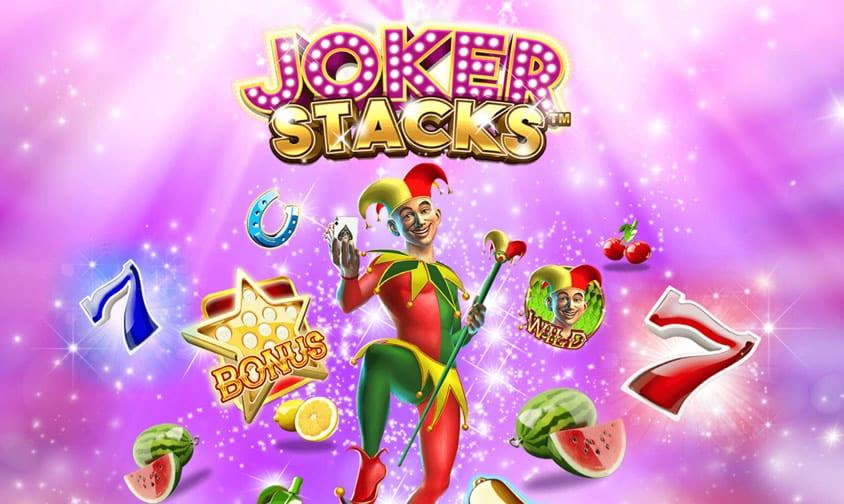 Joker Stacks online slots logo