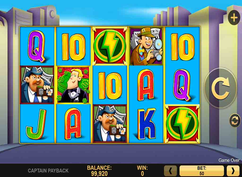 Captain Payback Slots Online