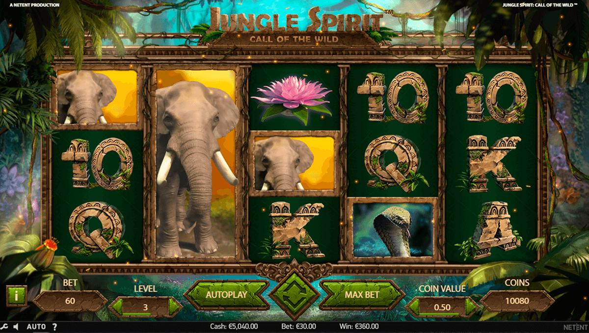 Jungle Spirit: Call of the Wild Slots