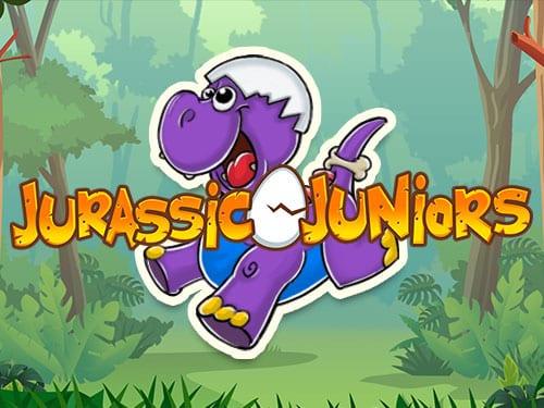 Jurassic Juniors online slots game logo