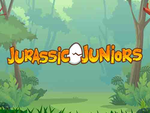 Jurassic Juniors Jackpot Slots game logo