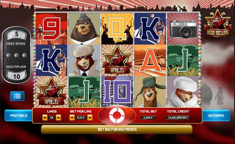 KGB Bears Gameplay