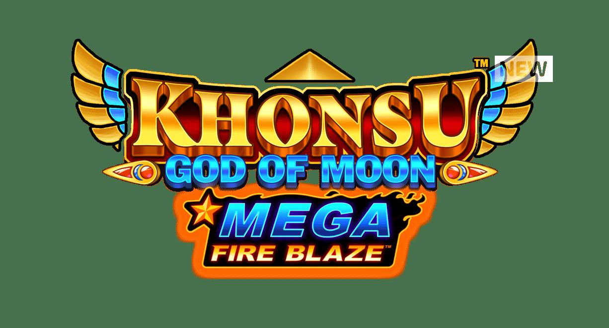 Khonsu God of Moon Slot Logo Wizard Slots