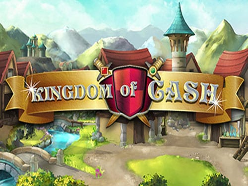 Kingdom of Cash online slots game logo