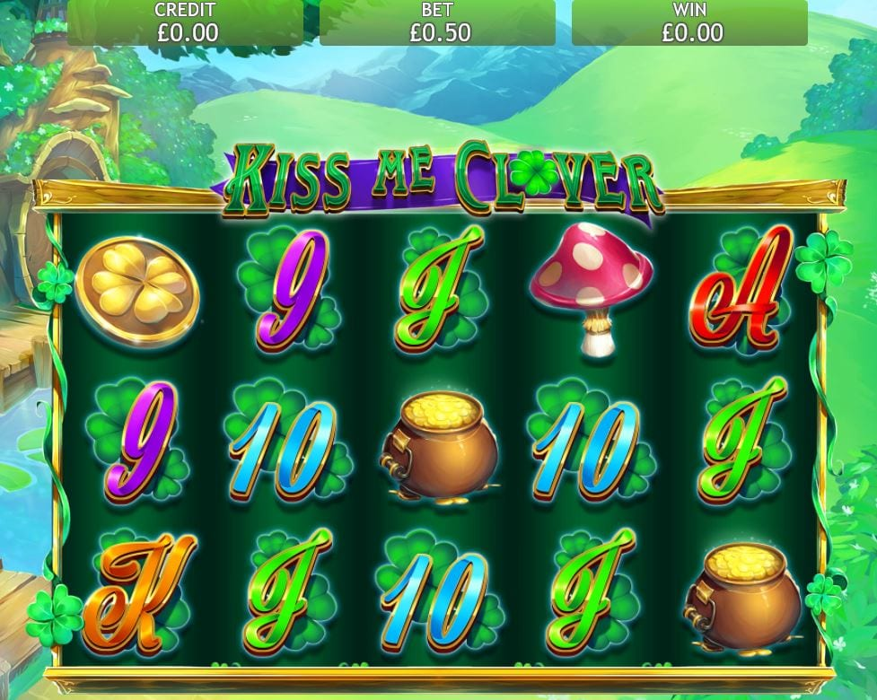 kiss me clover jackpot gameplay