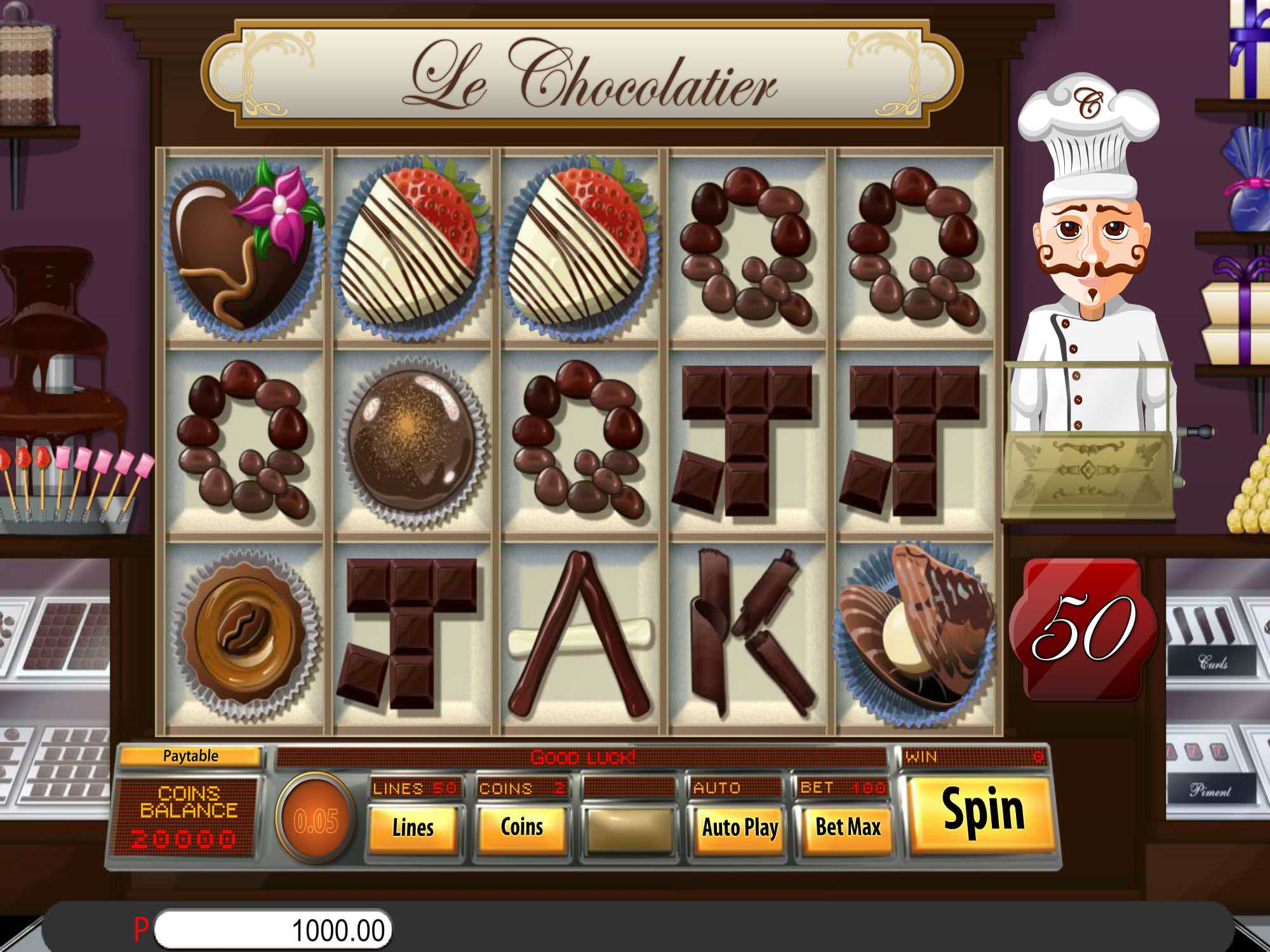 Le Chocolatier Slot Wizard Slots