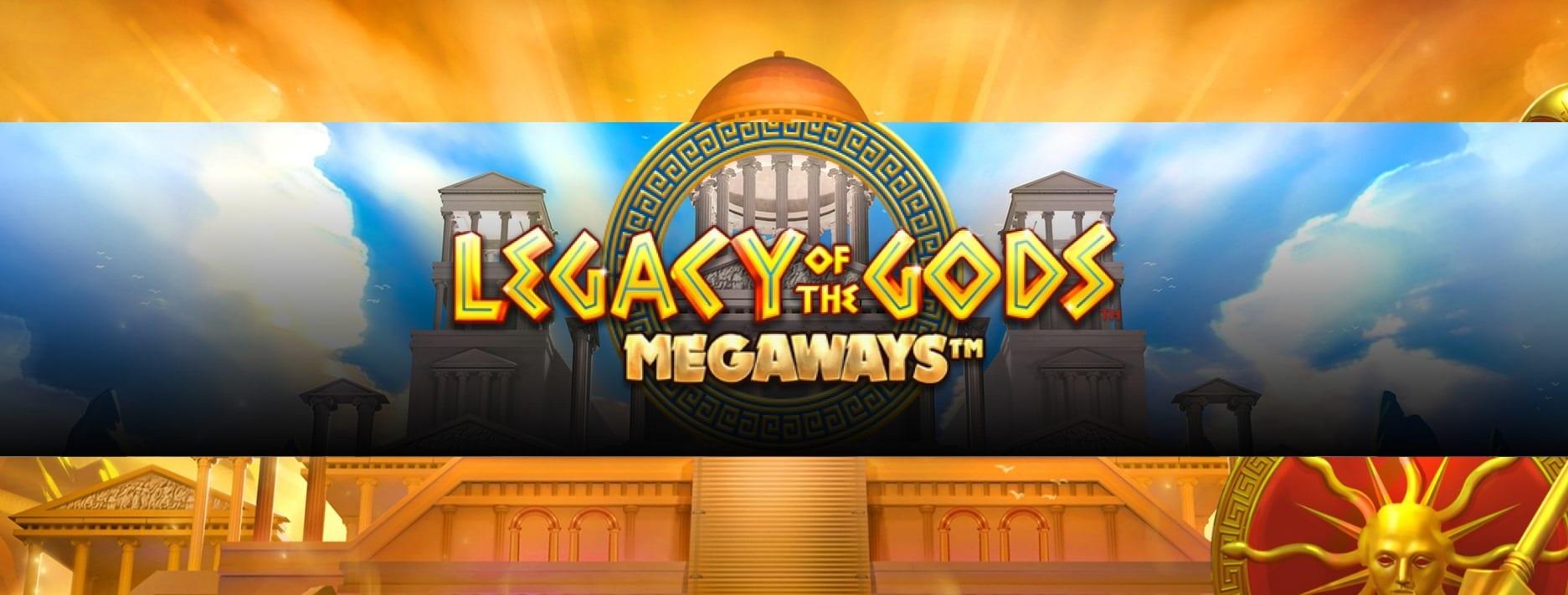 Legacy of the Gods Megaways Slot Logo Wizard Slots